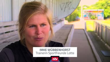 Imke Wübbenhorst legt in Lotte los