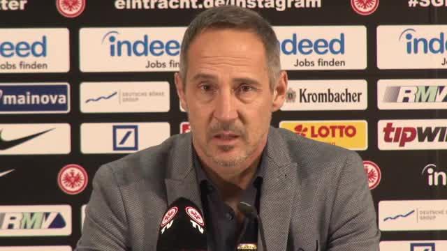 Hütter über FCB, Eintracht-Sturm und Transfers