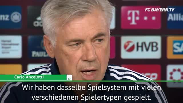 Ancelotti: Robben, Müller oder James? Egal!