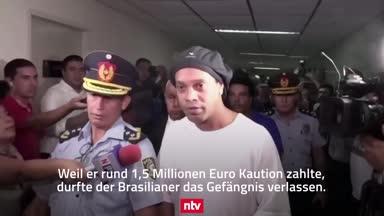 Ronaldinho tauscht Knast gegen Luxus-Hotel