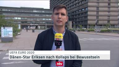 Schockstarre in Dänemark nach Eriksen-Kollaps