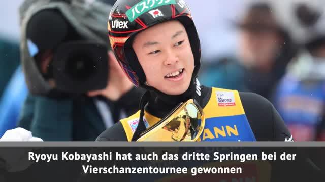 VST: Hattrick für Kobayashi! Eisenbichler 13.