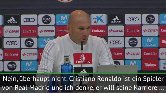 Zidane: Ronaldo beendet Karriere bei Real