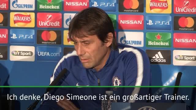 """Conte: """"Simeone ist einer der besten Trainer"""""""