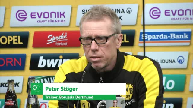 Stöger warnt vor angeschlagenen Gladbachern