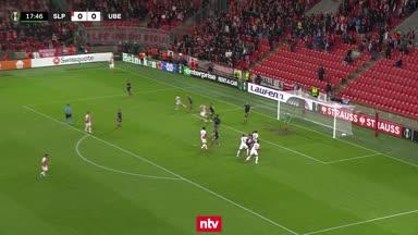 Die Highlights zu Slavia Prag vs. Union