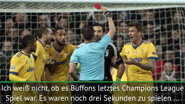 """Allegri über Buffon: """"Menschliche Reaktion"""""""