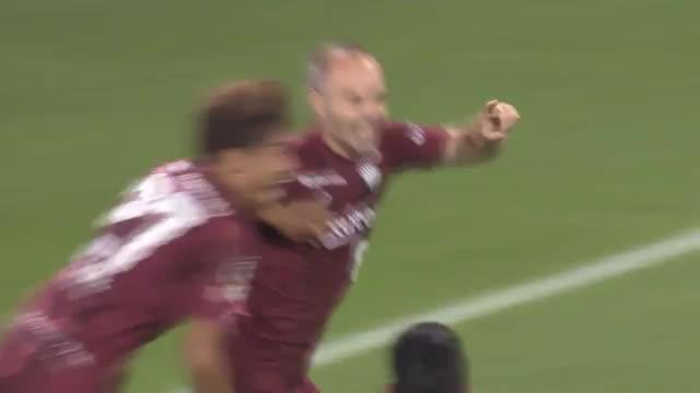 J-League: Iniestas Premieren-Traumtor für Kobe