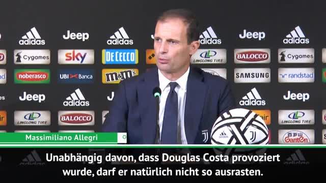 """Allegri zu Costa-Ausraster: """"Kein Stierkampf"""""""