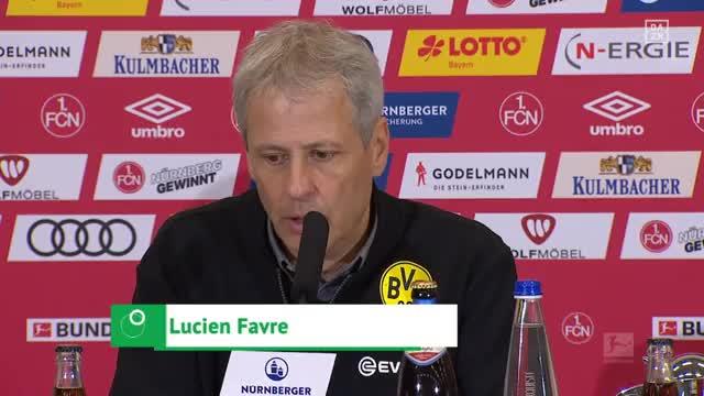 """Favre nach 0:0: Das war ein """"klarer Elfmeter"""""""