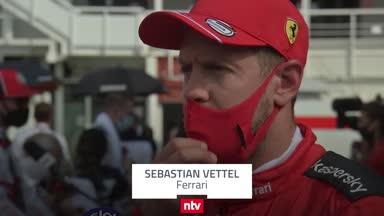 """Vettel: """"Ich war ein bisschen angekratzt"""""""