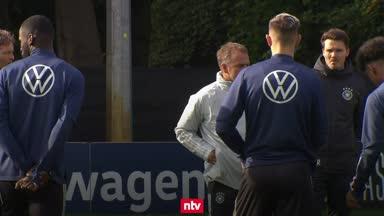 Flick lobt konzentriertes DFB-Team