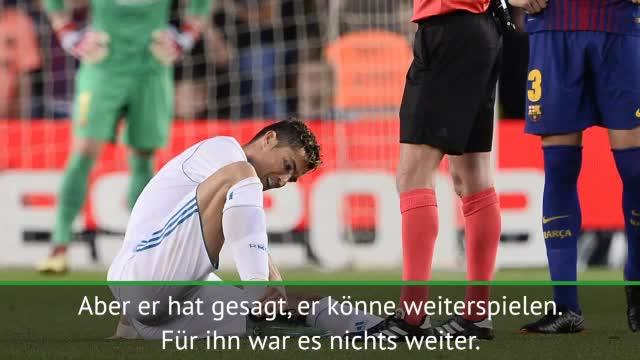 Ronaldo-Verletzung: Zidane gibt Entwarnung