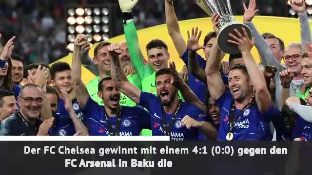 FC Chelsea gewinnt Europa League gegen FC Arsenal
