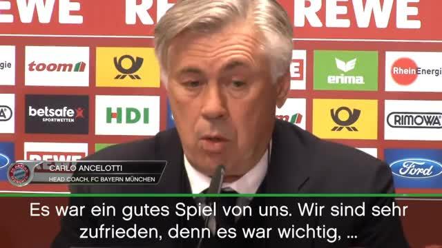 Ancelotti über Köln, Boateng-Comeback und Costa