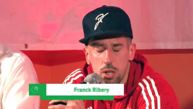 """Ribéry: """"Sind glücklich, dass Jupp zurück ist"""""""