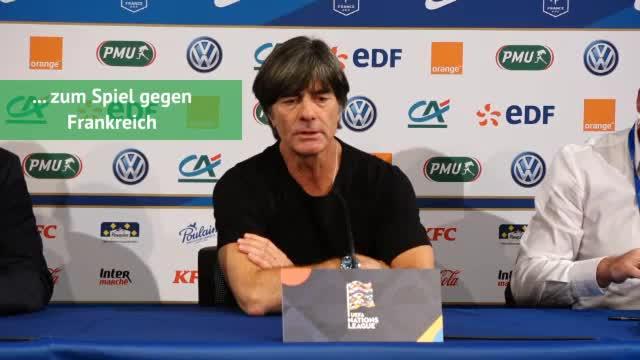 Löw über die Niederlage, Müller und Youngster