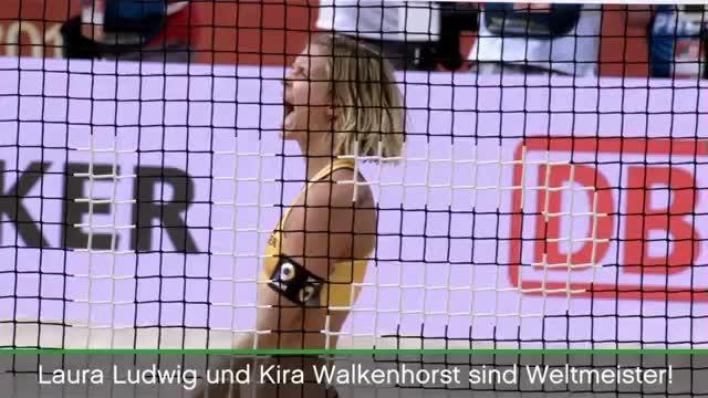 Beachvolleyball: Gold-Girls feiern WM-Titel
