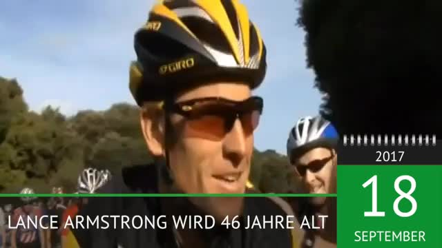 Cycling: Dopingsünder Armstrong wird 46