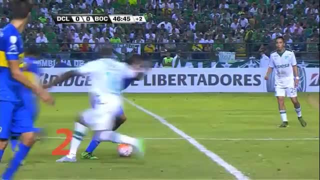 Copa Libertadores: Fernando Gagos Tunnel-Show
