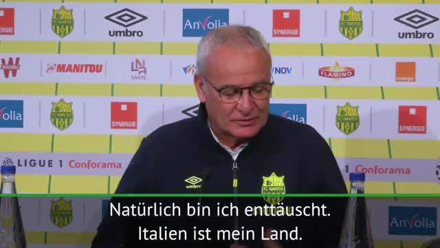 """Italien: Ranieri mahnt: """"Müssen etwas ändern"""""""