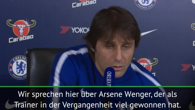 "Carabao Cup: Conte: ""Arsene Wenger ohne Druck"""