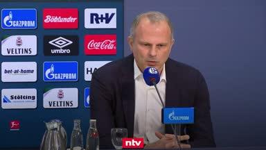 Schalke-Vorstand gibt sich demütig und gesteht Fehler ein
