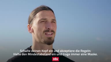 Ibrahimovic warnt vor dem Corona-Virus