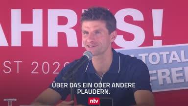 """Müller über Messi, das Triple und seine Rolle als """"Ofen"""""""