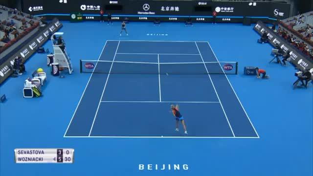 Glatte Sache: Wozniacki holt sich 30. Titel