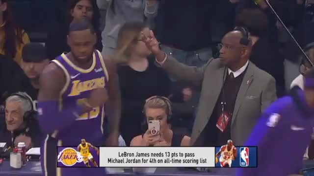 LeBron überholt MJ: Mehr als 32.292 Punkte