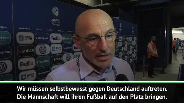 """U19-Coach Spaniens vor Deutschland: """"Art treu bleiben"""""""