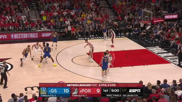 Sweep! Curry mit Triple-Double bei OT-Sieg