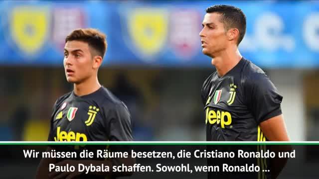 Allegri glücklich mit Ronaldo und Dybala