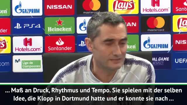 Valverde: Klopp mit selben Idee wie in Dortmund