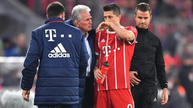 Heynckes setzt auf Lewandowski gegen BVB