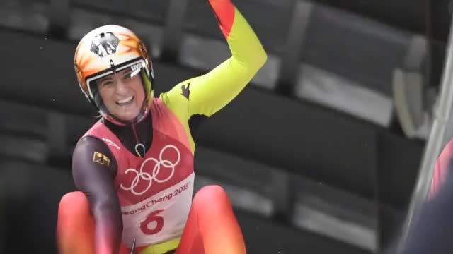 Olympia: Geisenberger schnappt sich Gold!