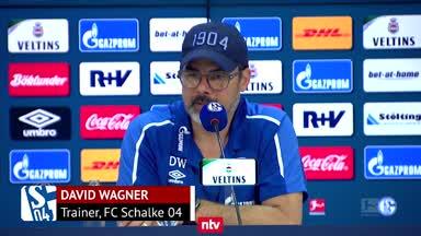 """S04-Coach Wagner: """"Wir haben nicht viele Führungsspieler"""""""