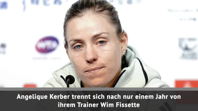 Hammer! Kerber feuert Coach Fissette