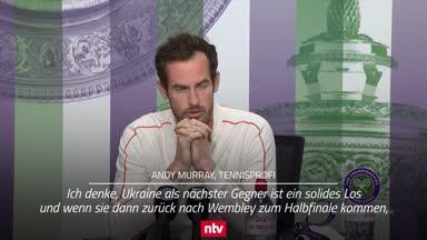 Tennis-Star Murray glaubt an die Three Lions