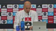 """Zidane: """"Brauche keine neuen Spieler"""""""