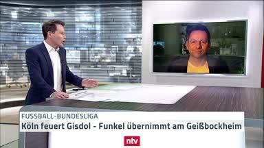 1. FC Köln feuert Gisdol - Funkel übernimmt wohl