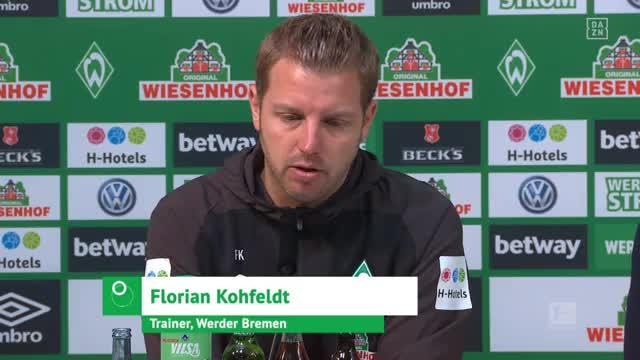 2:6-Klatsche! Das sagt Werder-Coach Kohfeldt