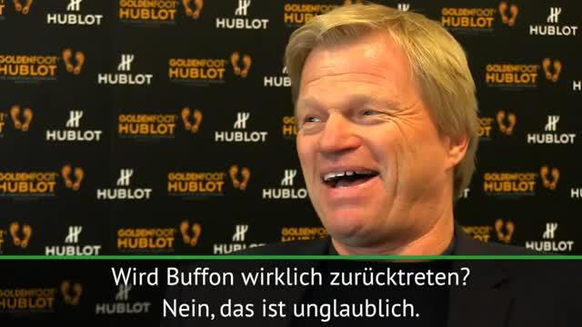 """Kahn zu Buffon: """"Habe nie gegen ihn gewonnen"""""""
