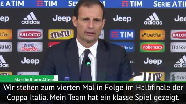 Coppa Italia: Allegri nach Sieg: Klasse Spiel!