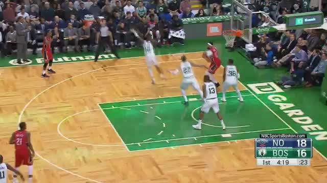 """45 Punkte! """"The Unibrow"""" rasiert die Celtics"""