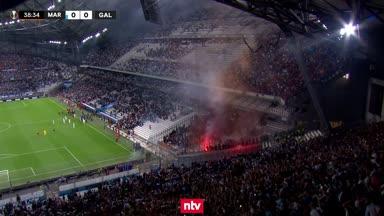 Pyro-Wahnsinn bei Marseille vs. Galatasaray