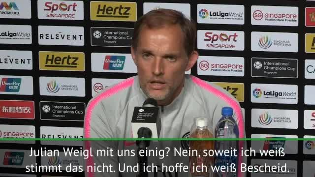 """Tuchel: Weigl-Transfer? """"Nur ein Gerücht"""""""