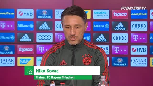 Kovac über Kimmich-Position, James und Sanches