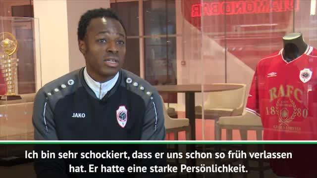 """Mpenza """"schockiert"""" von Rudi Assauers Tod"""